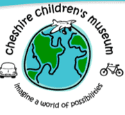 The logo for Cheshire Chilrens Museum