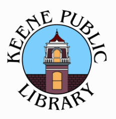 The logo for the Keene Public Library
