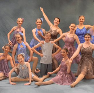 a picture of dancers from annes studio of dance