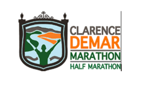 The logo for the Clarence Demar Marathon