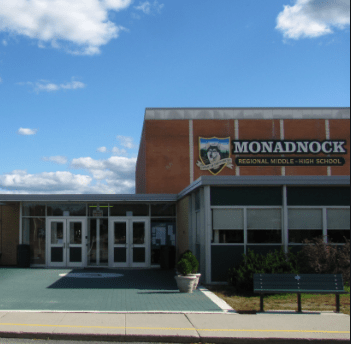 A picture of the Monadnock Regional High Schoo middle school