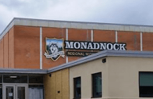 Close up of Monadnock building title