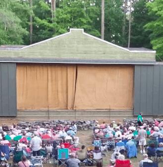 The potash bowl an outdoor concert venue