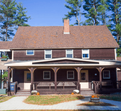 The house at the KSC Camp