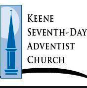 The logo in blue for the Keene Seventh day adventist church