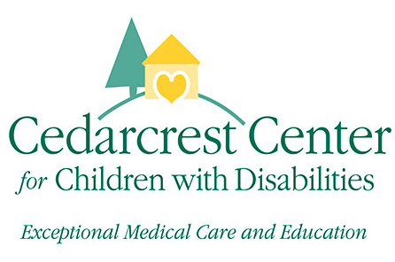 The logo for Cedarcrest Center for Children with Disabilities