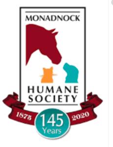 The logo for the Monadnock Humane Society