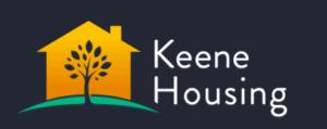 The logo for Keene Housing