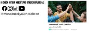 Screenshot of the bottom of the newsletter